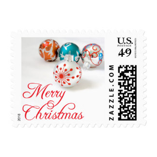 Merry Christmas Holiday Ornaments Holiday Stamps