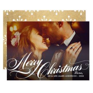 Merry Christmas | Holiday Photo Card