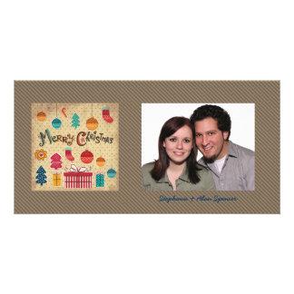Merry Christmas Holiday Photo Card