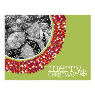 Merry Christmas - Holiday Photo Postcard