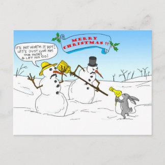 Merry Christmas !! Holiday Postcard