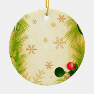 Merry Christmas  Holiday Tree Ornaments celebratio