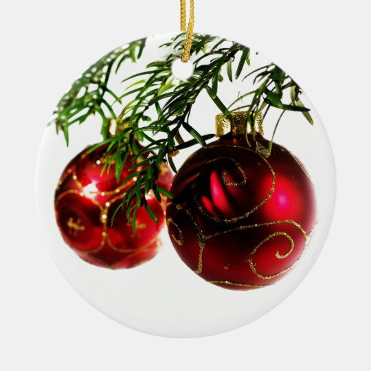 Merry Christmas  Holiday Tree Ornaments celebratio