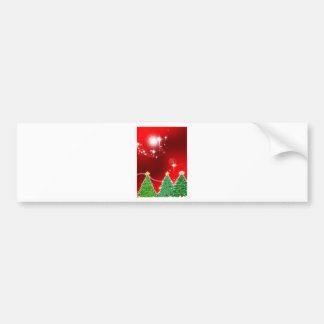 Merry Christmas  Holiday Tree Ornaments celebratio Bumper Stickers