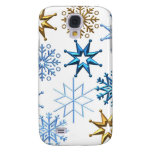 Merry Christmas  Holiday Tree Ornaments celebratio Galaxy S4 Cover
