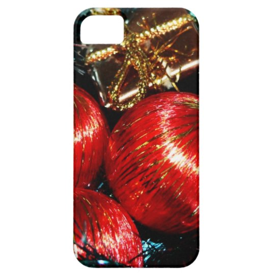 Merry Christmas  Holiday Tree Ornaments celebratio iPhone SE/5/5s Case