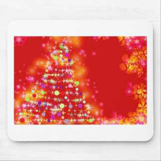 Merry Christmas  Holiday Tree Ornaments celebratio Mouse Pads