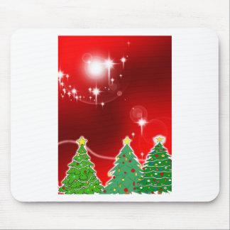 Merry Christmas  Holiday Tree Ornaments celebratio Mouse Pad