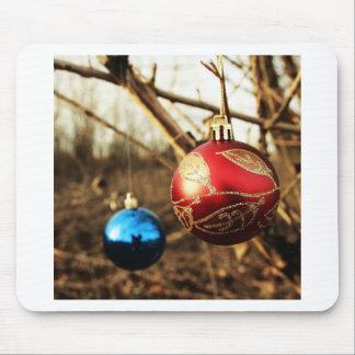 Merry Christmas  Holiday Tree Ornaments celebratio Mousepads
