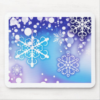 Merry Christmas  Holiday Tree Ornaments celebratio Mousepad