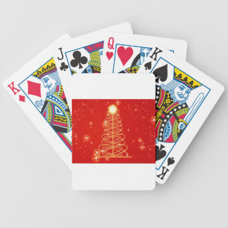 Merry Christmas  Holiday Tree Ornaments celebratio Playing Cards