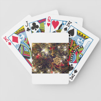 Merry Christmas  Holiday Tree Ornaments celebratio Deck Of Cards