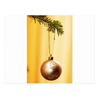 Merry Christmas  Holiday Tree Ornaments celebratio Postcard