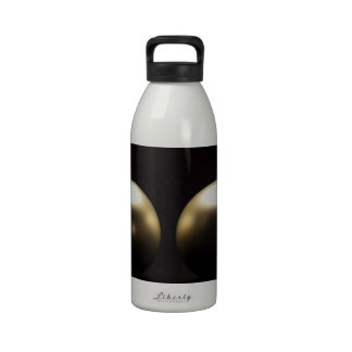 Merry Christmas Holiday Tree Ornaments celebratio Water Bottle