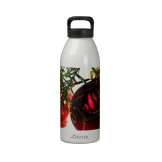 Merry Christmas Holiday Tree Ornaments celebratio Drinking Bottle