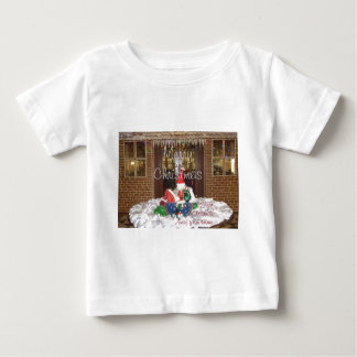 Merry Christmas holidays away from home Inspired A Baby T-Shirt