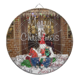 Merry Christmas holidays away from home Inspired A Dart Boards