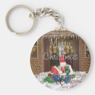 Merry Christmas holidays away from home Inspired A Keychain