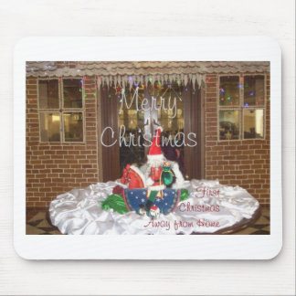 Merry Christmas holidays away from home Inspired A Mouse Pad
