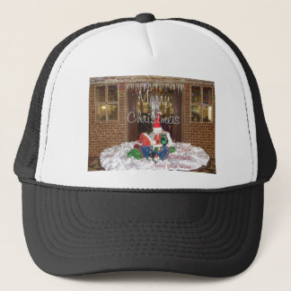 Merry Christmas holidays away from home Inspired A Trucker Hat