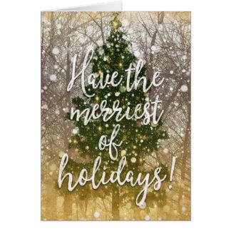 Merry Christmas Holidays Card