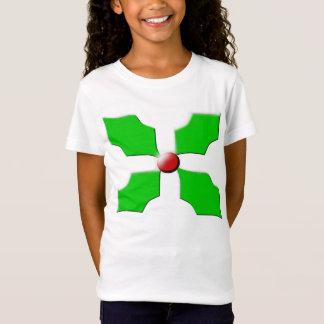 Merry Christmas Holly Kids T Shirt