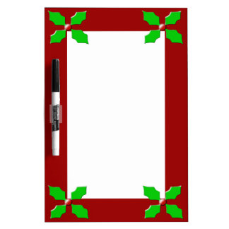 Merry Christmas Holly Memo Board
