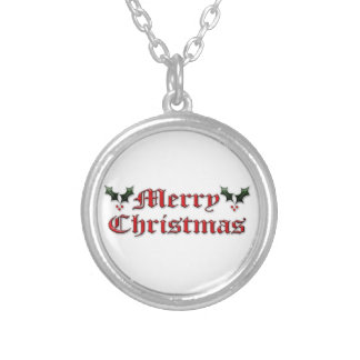 Merry Christmas - Holly Custom Jewelry