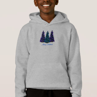 Merry Christmas Hoodie for Girls