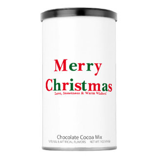 Merry Christmas   Hot Chocolate Cocoa Mix