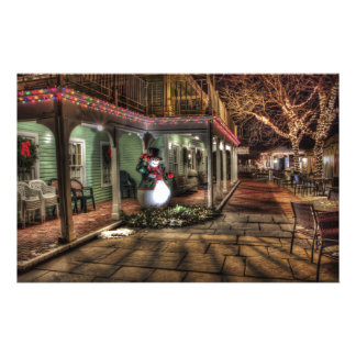 Merry Christmas House Stationery