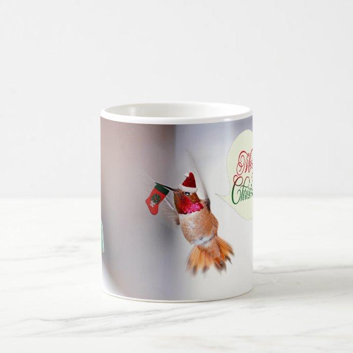 Merry Christmas Hummer Coffee Mug
