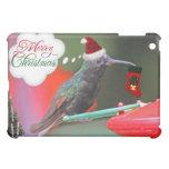 Merry Christmas Hummingbird Cover For The iPad Mini