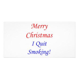Merry Christmas I Quit Smoking! Card