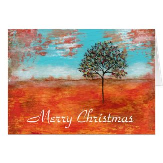 Merry Christmas I Will Revere From Original Art Greeting Card