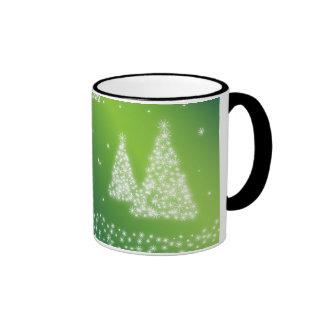 Merry Christmas illustration Coffee Mugs