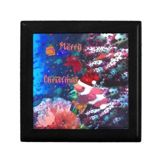 Merry Christmas in aquarium Gift Box
