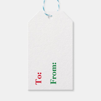 Merry Christmas in Morse Code Gift Tags Version 2