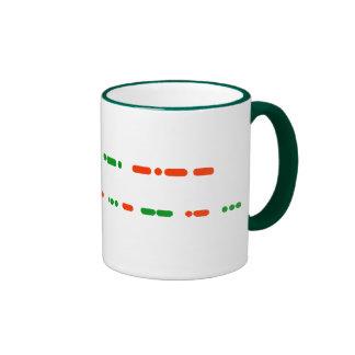 Merry Christmas in Morse Code Mug