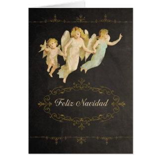 Merry Christmas in Spanish, Feliz Navidad Card