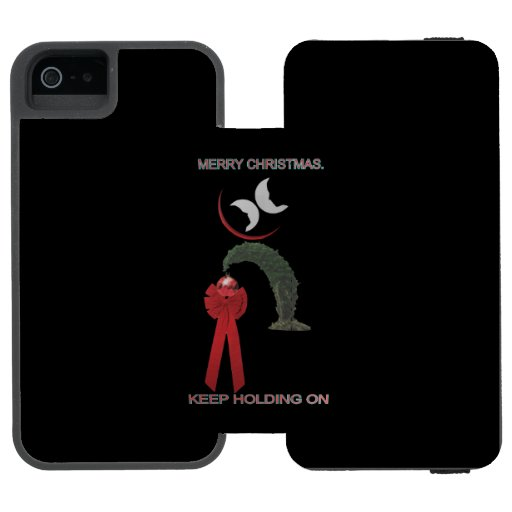 MERRY CHRISTMAS iPhone SE/5/5s WALLET CASE