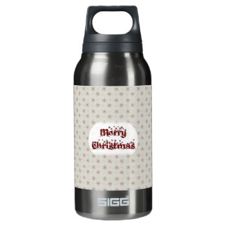 Merry Christmas Insulated Water Bottle