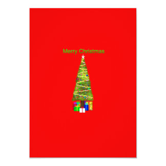 Merry Christmas Custom Invite