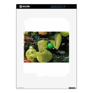Merry Christmas iPad 2 Skins