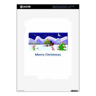 Merry Christmas iPad 3 Skin