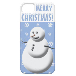 Merry Christmas  iPhone 5/5S, Barely There Snowman iPhone SE/5/5s Case