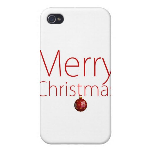 Merry Christmas! Cover For iPhone 4