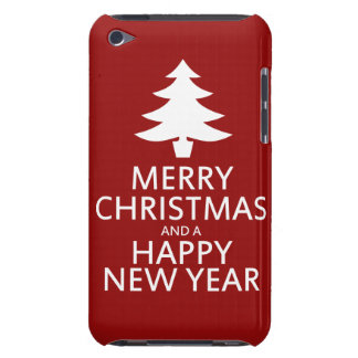 Merry Christmas iPod Touch Cover