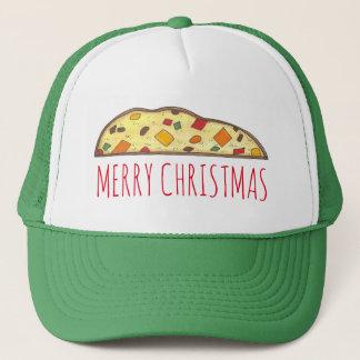 Merry Christmas Italian Holiday Biscotti Food Hat