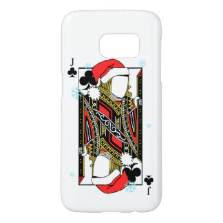 Merry Christmas Jack of Clubs - Add Your Images Samsung Galaxy S7 Case